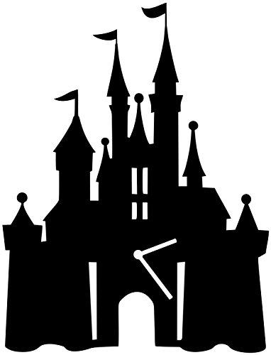 Cinderella Castle Silhouette Wall Clock - Wall Clock