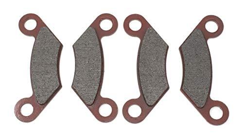 DP 0415-202 Front ATV Brake Pads (2 Sets, 4 Pads Total) Fits Polaris