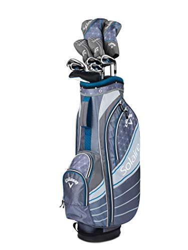 Callaway Golf 2018 Women's Solaire Complete 8 Piece Package Set (Blue, Right Hand) 8 Piece Package Set