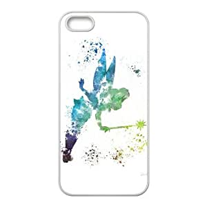 iPhone 5 5S Case White Peter Pan Cell Phone Case Cover W4O3OC