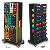 Economy 4-Sided Weight Rack Accessorized Economy Weight Rack - Model 561425