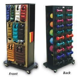 Economy 4-Sided Weight Rack Accessorized Economy Weight Rack - Model 561425 by Sammons Preston