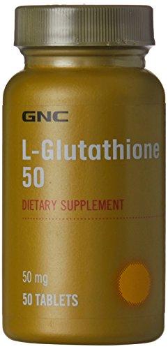 GNC L Glutathione   50 Capsules