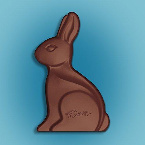 DOVE Easter Milk Chocolate Candy Solid Easter Bunny 12-Ounce Box