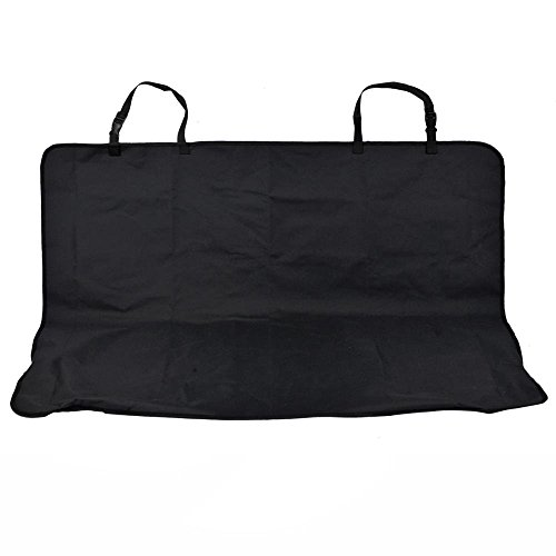 TravelDog Waterproof Bench Seat Cover Protector for Pets - Black Oxford Hammock (Small)