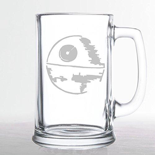 Star Wars - Death Star - Etched Beer Mug