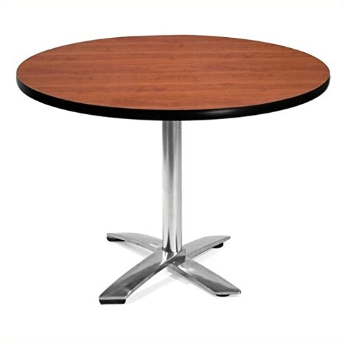OFM KFT42RD-CHY Round Folding Multi-Purpose Table, 42'', Cherry by OFM