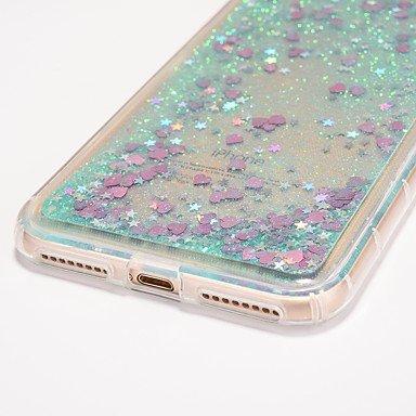 Fundas y estuches para teléfonos móviles, Caso para el iphone 7 más el caso del corazón de la cubierta del caso 7 que fluye la caja suave del teléfono del materia del tpu del ( Modelos Compatibles : I IPhone 6s Plus/6 Plus