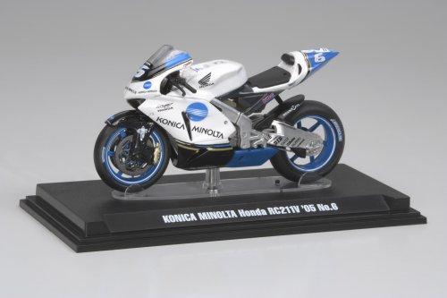 タミヤ 1/24 コレクターズクラブ モーターサイクルモデルズ コニカミノルタ ホンダ RC211V 2005 No.6 塗装済み完成モデル 26803 完成品