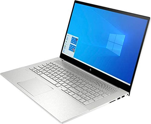 "Newest HP Envy 17t Touch(tenth Gen Intel i7-1065G7, 32GB DDR4 RAM, 1TB PCI NVMe SSD, NVIDIA GeForce 4GB GDDR5, Windows 10 Professional, 3 Years McAfee Security Key) Bang & Olufsen 17.3"" Laptop PC"