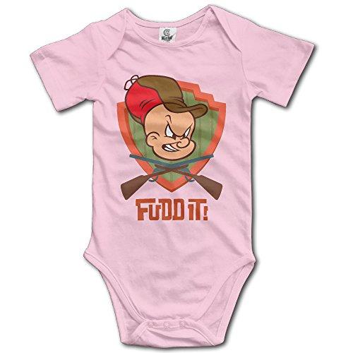 baby-boys-girls-short-sleeve-elmer-fudd-funny-bobysuit-onesie-12-months-pink
