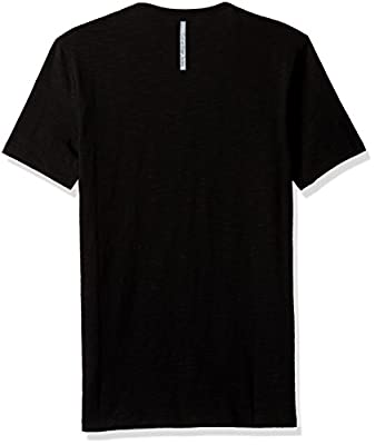 Calvin Klein Jeans Men's Short Sleeve Embroidered Calvin Crew Neck T-Shirt