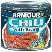 Armour Star Original Chili with Beans - 24 oz. can, 12 per case by Pinnacle Foods