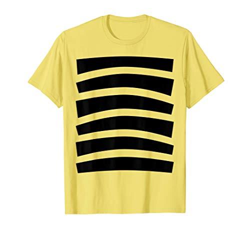 Bee Halloween Costume Shirt Top Cute Honeybee Bumblebee]()
