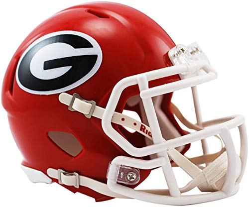 Sports Memorabilia Riddell Georgia Bulldogs Revolution Speed Mini Football Helmet - College Mini Helmets