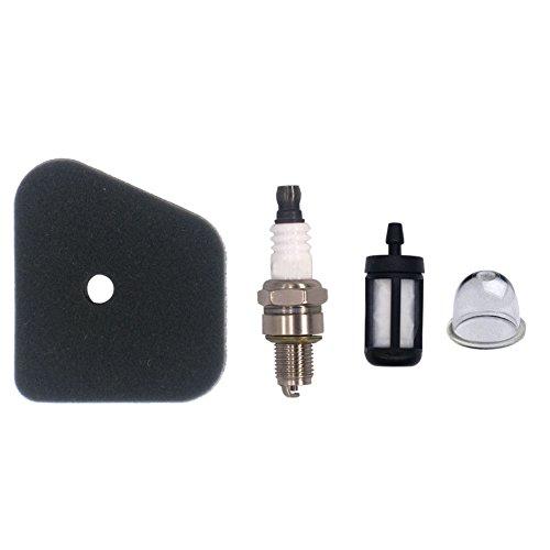 (NIMTEK Air Filter Spark Plug Fuel Filter Primer Bulb for STIHL FS87 FS90 FS100 FS110 HT100 HT101 HL100 HL90 FC95 FC90 FC110 FC100 KM90 KM100 4180 120 0604 Trimmer)
