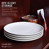 Delling 10'' Perdurable Porcelain Dinner