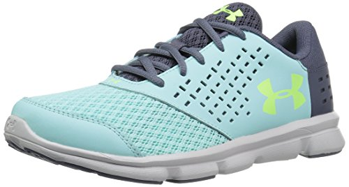 Under Armour Boys' Pre School Rave Sneaker, Blue Infinity /A