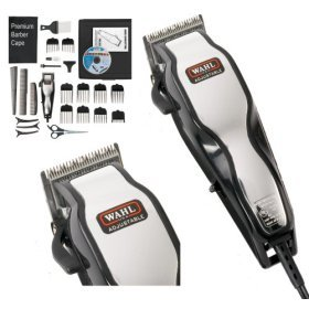 Brand New Wahl 79524-800 Chrome Pro Full Complete Home Hair Cutting Clipper...