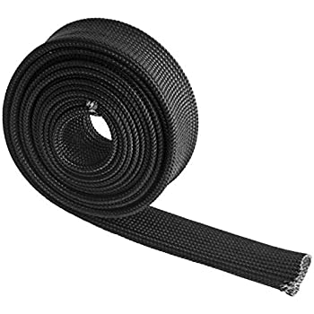 VViViD Black Fiberglass Heat Shield Exhaust 2 x 50ft Wrap Roll Including 10 Free Stainless Steel Locking Zip Ties