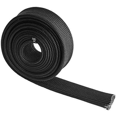 (Auto Heat Sleeve Fiberglass Adjustable Heat Shield 5FT-13MM(1/2