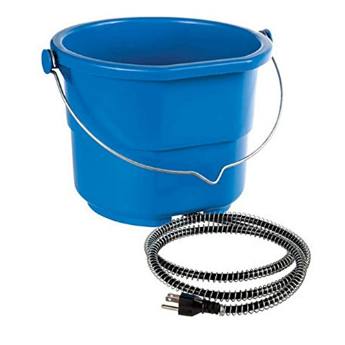 API Heated Flat Back Bucket (10qt) (Heated Bucket Flat)