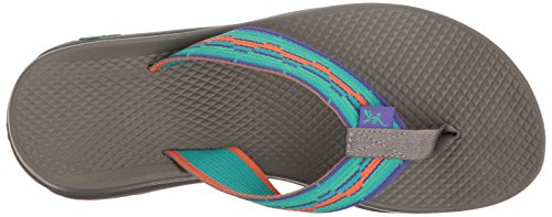 Chaco Womens Flip Ecotread Athletic Sandal Mint Liberty