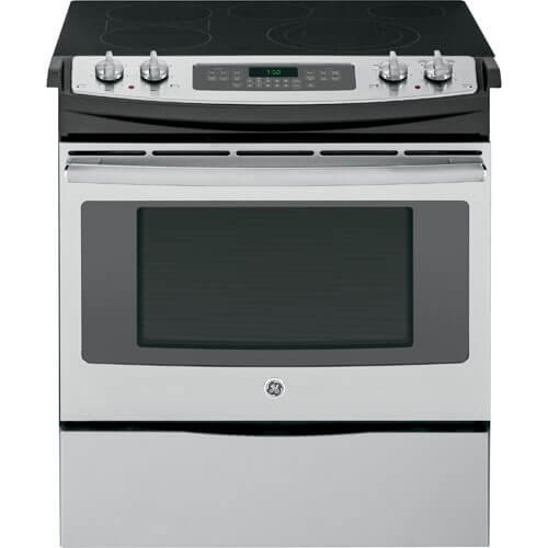 GE JS750SFSS Stainless Electric Smoothtop
