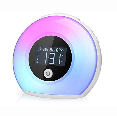Yapeach Digital Alarm Clock