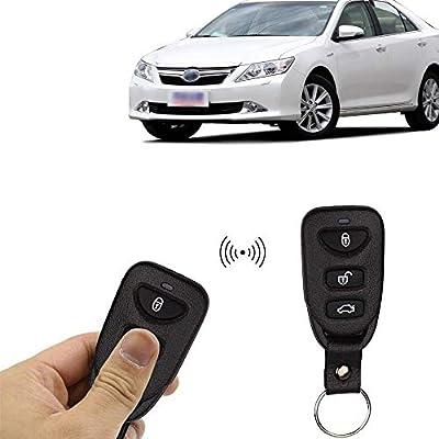 Eunavi Universal Car Vehicle Security Car Door Lock Keyless Entry System Remote Central Control Box Kit: Car Electronics