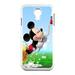 Samsung Galaxy S4 9500 Cell Phone Case White_Mickey Mouse (10) FY1509154