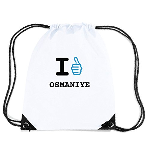 JOllify OSMANIYE Turnbeutel Tasche GYM3150 Design: I like - Ich mag