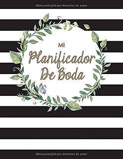Mi Planificador De Boda: Un Organizador de Bodas, Lineas Blancas y Negras (Spanish
