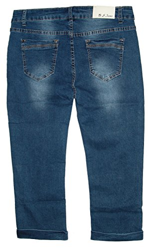 Capri Jeans Femme Midblue S Used Jeans B qg4nPwZx