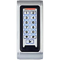 MOUNTAINONE Door Access Control System Controller Waterproof IP68 Metal Case RFID Reader Keypad /SY5000W