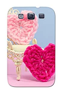 Awesome Design Small Heart Hard Case Cover For Galaxy S3(gift For Lovers)
