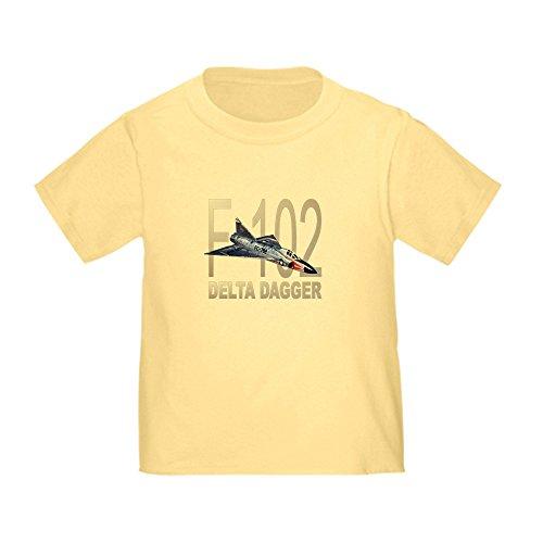 F102 Dart Delta (CafePress F-102 Delta Dagger - Cute Toddler T-Shirt, 100% Cotton)