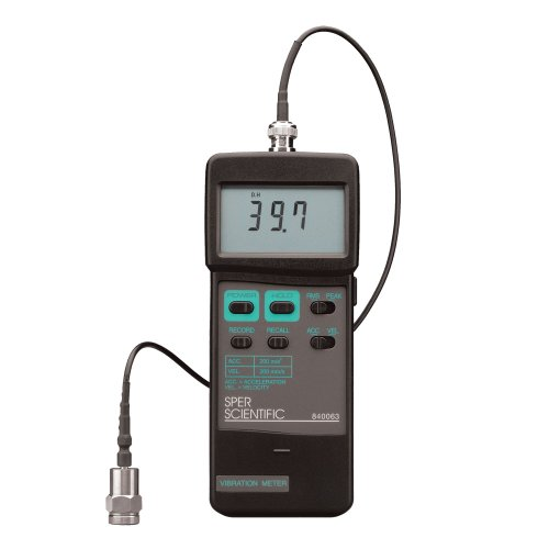 Sper Scientific 840063 Vibration Meter by Sper Scientific