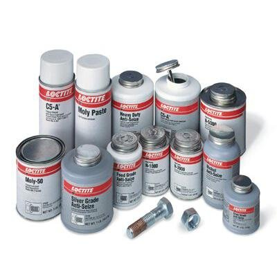 Loctite 51145 Moly Paste Very Low Friction Lubricates, 15 lbs Can by Loctite