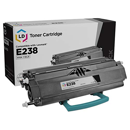 - LD Remanufactured Toner Cartridge Replacement for Lexmark E238 Series 23800SW High Yield (Black)