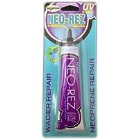 SOLAREZ UV Cure Neo-Rez Wetsuit Repair & Filler (1 Oz) ~ Fix, Repair, Fill and Seal Neoprene Wetsuits or Hip Waders…
