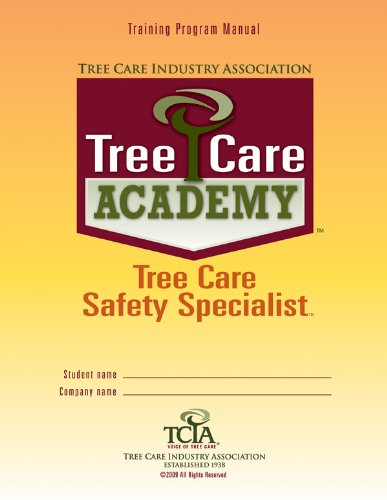 Tree Care Academy Tree Care Safety Specialist PDF