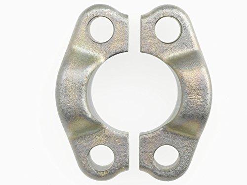 Brennan Industries 1951-08 Steel Split Flange, Pairs, Code 61, 1/2