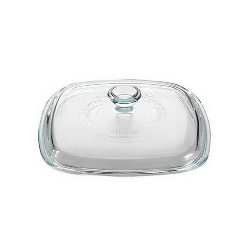 CORNINGWARE StoveTop 1-L to 1.75-L Square Glass Cover
