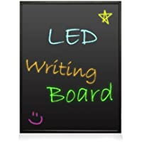 Pyle PLWB6090 - 35x24 - Flashing Illuminated Erasable Neon LED Message Writing Board/ Menu Sign with Remote Control and 8 Fluorescent Markers - Connect and Configure Custom settings from PC