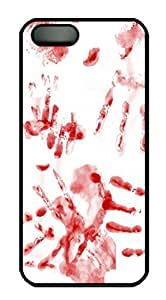 Bloody Hands PC Case Cover for iPhone 5 and iPhone 5s ¨CBlack