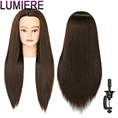 Product Information:Total Length: 28-30 inches (from the forehead to the back hair end)Individual Hair Strand: 20 inchesColor: #7The hair implanted with higher density,Very Soft Synthetic fiber Hair, the hand feeling is similar with human ha...