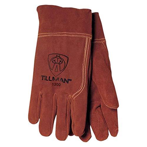 Tillman Large Russet Brown Shoulder Split Cowhide - Economy Shoulder Split Work Gloves
