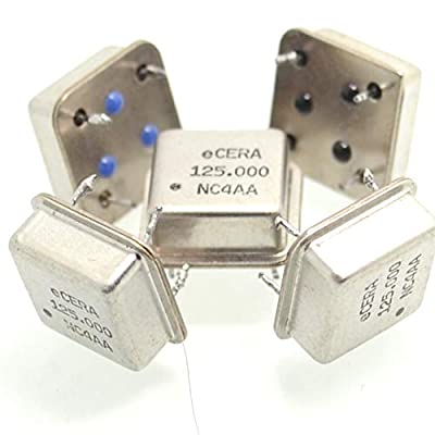 Phoncoo Inline Active Crystal oscillator 125MHZ Square 125.000MHZ Half Size (5pcs lot): Toys & Games