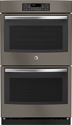 """GE JT3500EJES 30"""" Double Wall Oven in Slate"""
